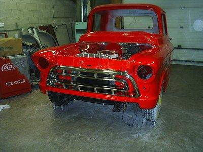 1957 Chevrolet Truck Build on